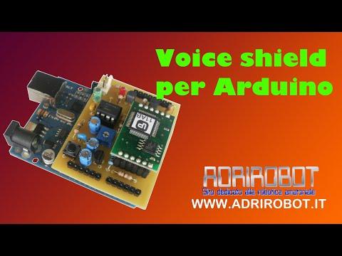 Voice shield per Arduino