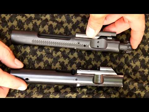 9mm AR 15 Bolt Removal and Cleaning
