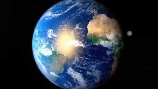 Earth animation 3D - HD - Maya 2014