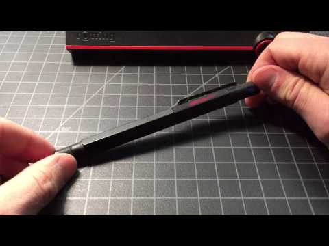 Rotring 600 rollerball pen review