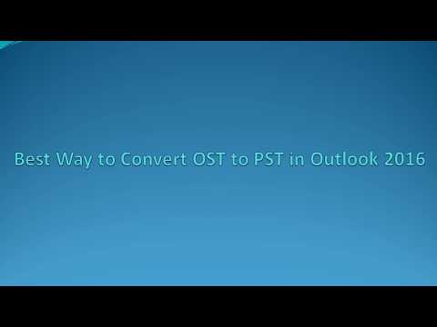 Best Way to Convert OST to PST with and without Outlook