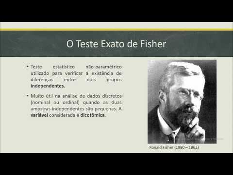 Estatística - Teste Exato De Fisher