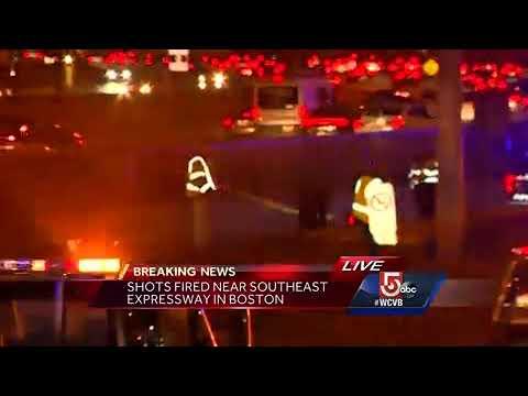 Shots fired near Southeast Expressway in Boston