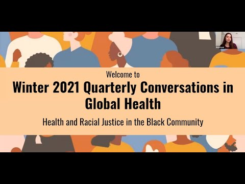Winter 2021 Quarterly Conversations in Global Health