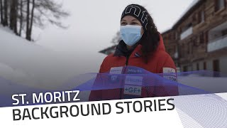 St. Moritz track walk with local girl Melanie Hasler | IBSF Official