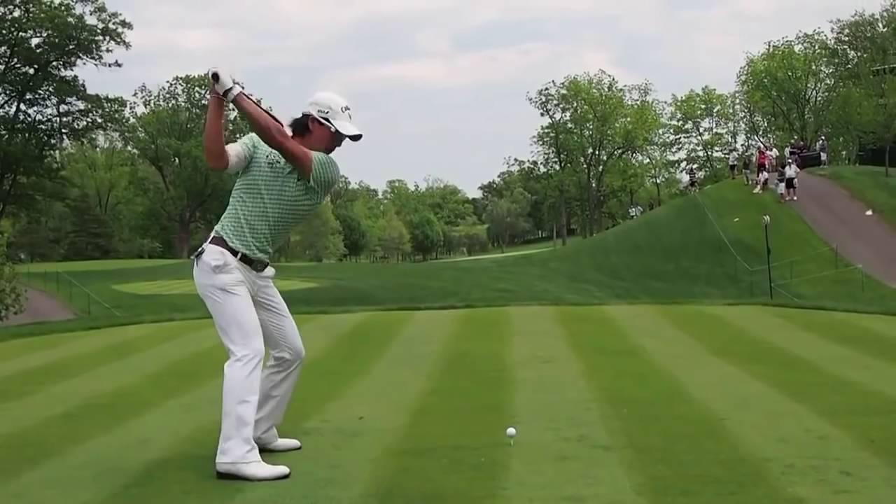 モーション ゴルフ スイング スロー