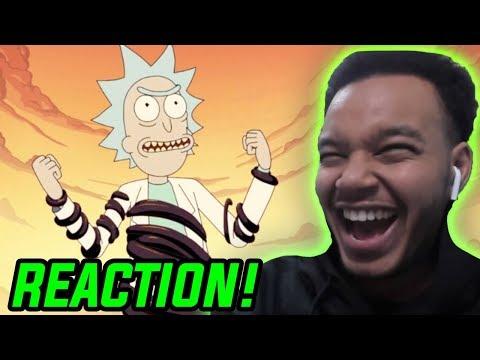 Rick And Morty Season 4 Episode 1 REACTION!