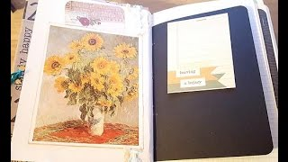 PROCESS VIDEO|| Making a Junky Journal from a Cereal Box & Scrap Paper (SOLD)