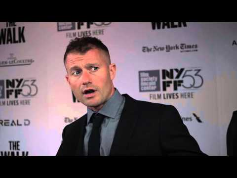 James Badge Dale   'The Walk' Red Carpet  NYFF53