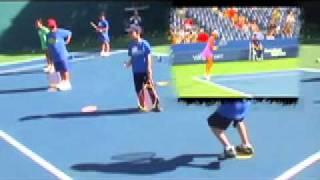 Теннис  разношка.