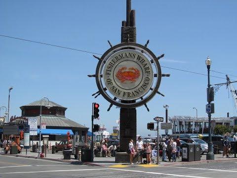 Fisherman's Wharf San Francisco 4K Walking Tour