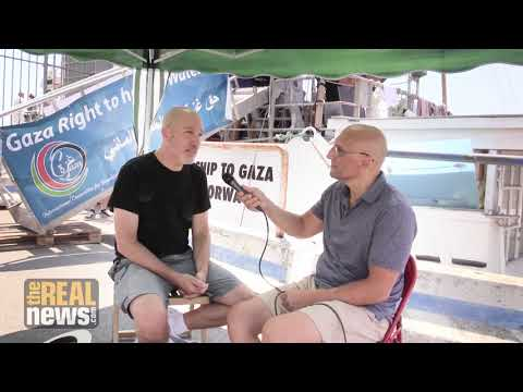 From the Freedom Flotilla, Former Israeli Air Force Pilot Calls for a Boycott of Israel