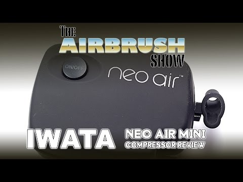 IWATA NEO AIR MINI COMPRESSOR - THE AIRBRUSH SHOW EP03
