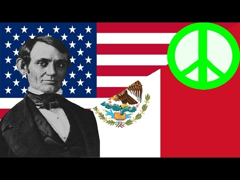 Why was Abraham Lincoln against the Mexican-American War?