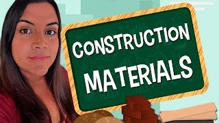 Aprende en Inglés Los Materiales para la Construcción.