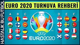 EURO 2020 TURNUVA REHBERİ TAKIMLAR, KADROLAR, FAVORİLER...