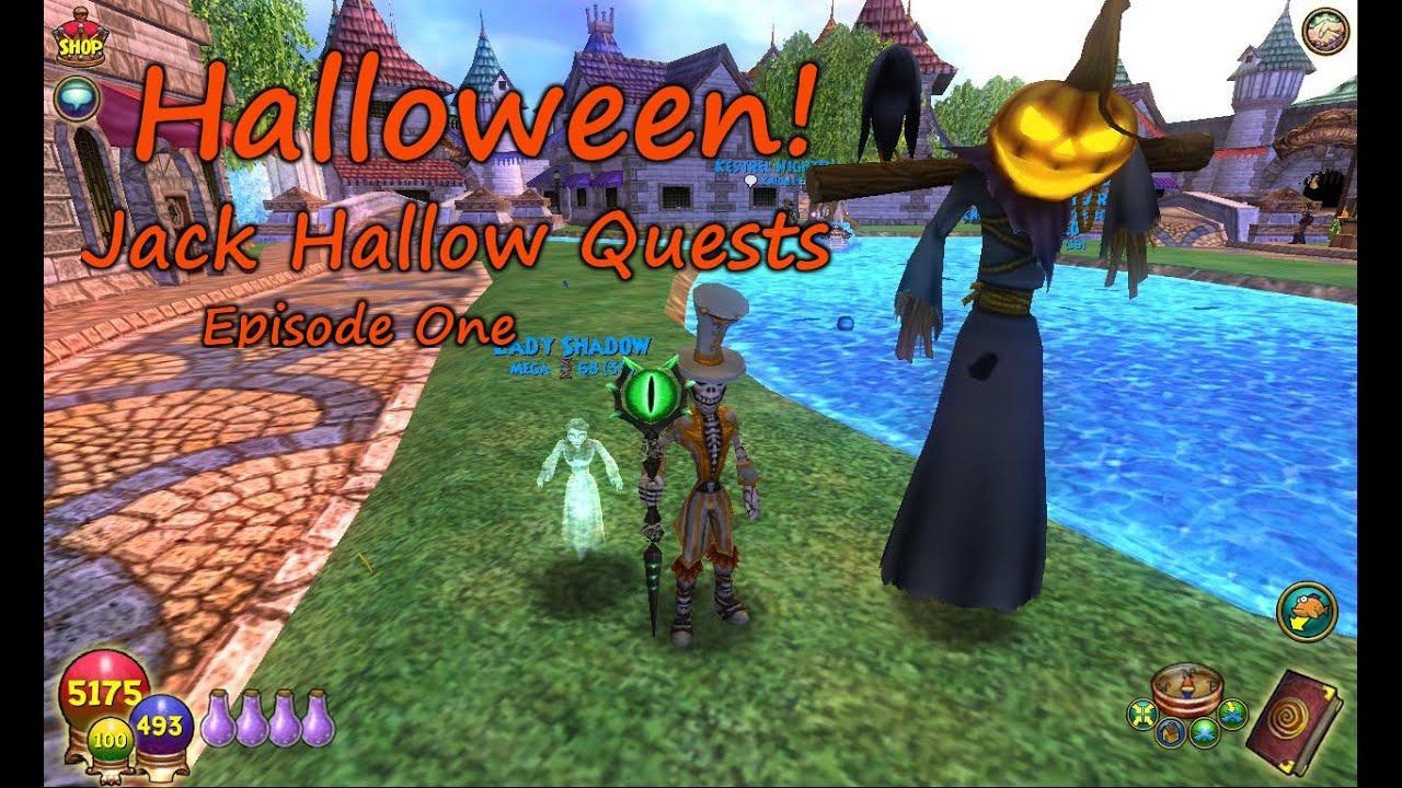 Wizard101: Halloween Jack Hallow Quests Ep  1