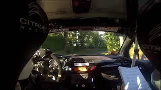 Rallye de Sarlat 2017 Es1 Caméra embarquée SANCHEZ JORDAN /PERRINAUD EMILIE DS3 R1