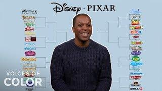 Leslie Odom Jr. Does Our Disney vs. Pixar Bracket