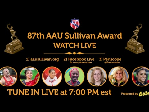 87th Annual AAU Sullivan Award Ceremony