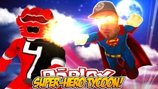 ROBLOX ADVENTURE - ROPO IST SUPER-MAN?? (SUPER HERO TYCOON)