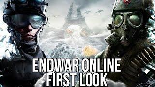 EndWar Online (Free Online RTS): Watcha Playin