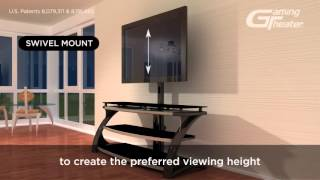 3-in-1™ TV Console Solution - Whalen Furniture
