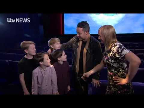 Ben Forster - pre opening night interview for Elf the Musical on ITV Granada, 24-11-2017
