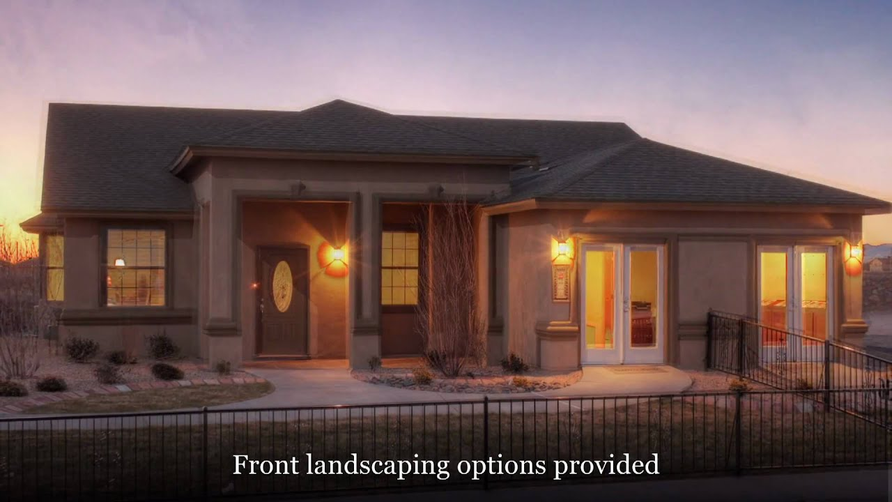 4 bedroom home el paso tx sonoma model by carefree for New homes in el paso tx
