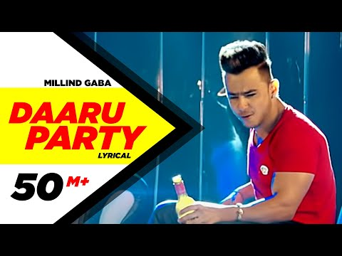 Daaru Party ( Lyrical Video ) | Millind Gaba | Punjabi Lyricai Videos | Speed Records
