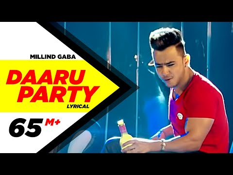 Daaru Party ( Lyrical Video ) | Millind Gaba | Punjabi Lyricai Videos | Speed Records