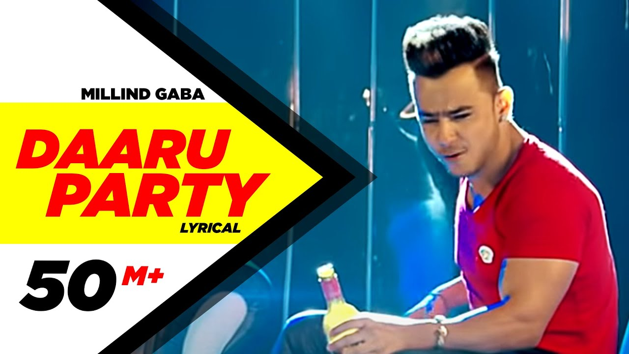 Download Daaru Party ( Lyrical Video ) | Millind Gaba | Punjabi Lyricai Videos | Speed Records