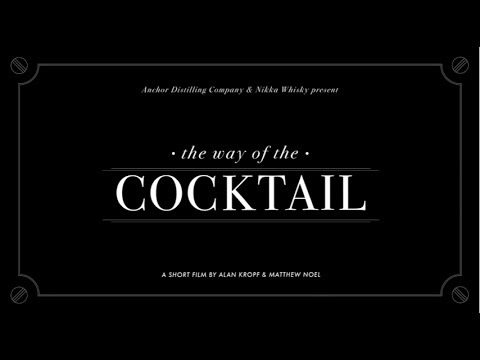 """The Way of the Cocktail"" - A Documentary About Japanese Bartending"