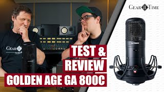 Golden Age Premier GA800 G Test & Review - Bester Sony C800 G Clone | Gear Time