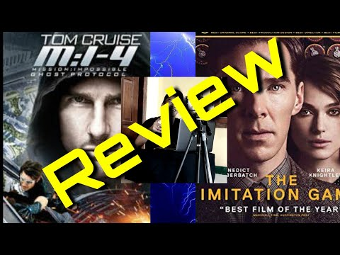 REVIEW ASYIKK.....MISSION IMPOSSIBLE:GHOST PROTOKOL + THE IMITATION GAME