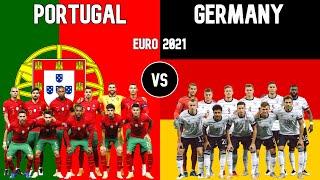 Portugal vs Germany Football National Teams Euro 2021