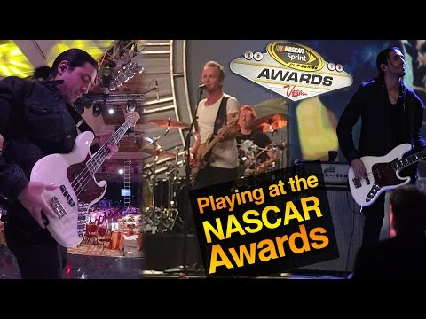 Download Youtube: PLAYING AT THE NASCAR AWARDS WITH STING - UNBELIEVABLE EXPERIENCE - MICHAEL PHELPS - EDDIE VEDDER