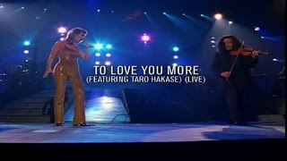 Céline Dion - To Love You More (feat. Taro Hakase) (live in Memphis,1997)