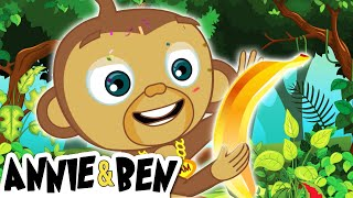 Rescue The Golden Banana | Puzzle Games For Kids | Learn Colors And Shapes With Annie & Ben