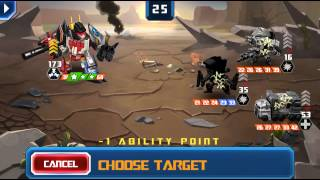 [TRANSFORMERS: Battle Tactics] Superion pulls through for the long game