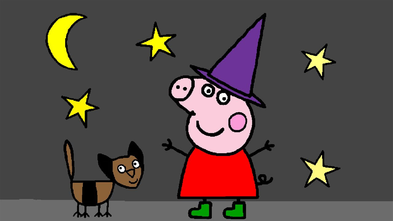 Peppa Pig Coloring Pages for Kids ▻ Peppa Pig Coloring Games ...