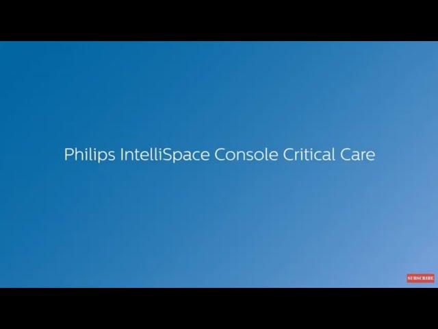 Philips IntelliSpace Console Critical Care