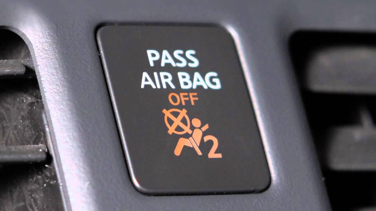 Nissan Maxima: Supplemental air bag warning light