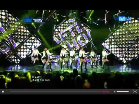 120621 After School - Comeback! [Rip Off KoreanVer & Flashback] Mcountdown