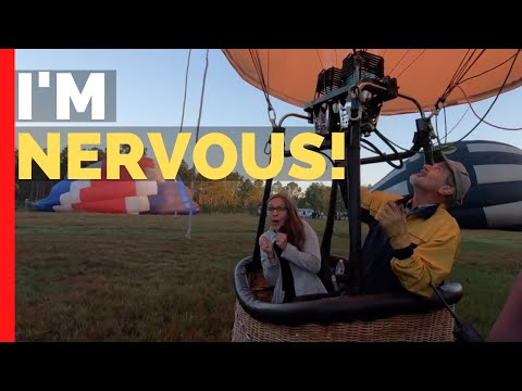 Our 1st Hot Air Balloon Ride In Florida | Full Time RV Living Travel Vlog