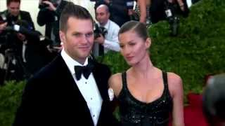 Tom Brady kisses Gisele Bundchen in front of ex Bridget Moynahan