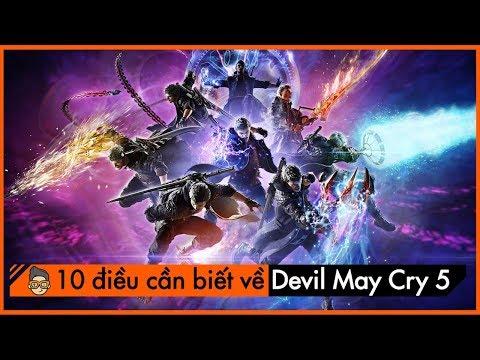 [TOP10] Điều thú vị về tựa game DEVIL MAY CRY 5 thumbnail