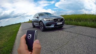 Volvo XC60 T6 TEST POV Drive & Walkaround ENGLISH SUBTITLES