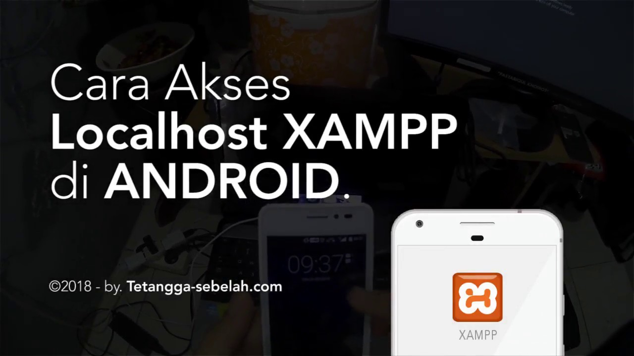 How to Access Localhost XAMPP in Mobile Android / iPhone