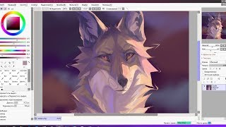 Coyote - SPEEDPAINT SAI